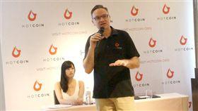 來自紐約及矽谷的創業家Ed Gogel,創辦虛擬貨幣HotCoin進軍成人產業。(圖/三立)