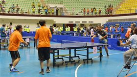 彰化縣長盃公務人員桌球賽 400選手競技