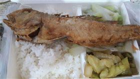便當,馬頭魚,基隆,天價,主菜(圖/翻攝自爆料公社)