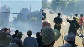 美駐北京大使館爆炸 陸官媒:爆米花鍋爐爆炸! 圖/翻攝自推特