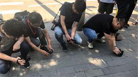 美駐北京使館爆炸!現場「血跡斑斑」 美國,大使館,爆炸,內蒙古,中國,炸彈,引爆 翻攝自推特