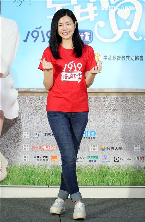 陳妍希(記者邱榮吉/攝)