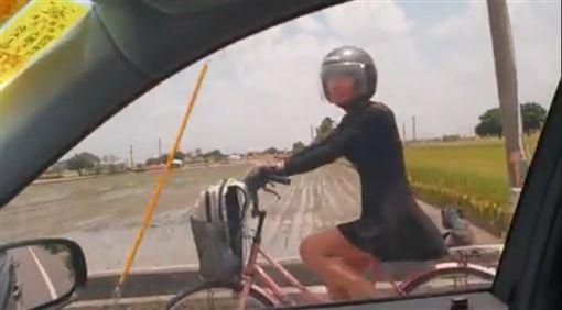 彰化,女孩子,騎車,阿伯,廖姓會長(圖/翻攝自廖守豐臉書)