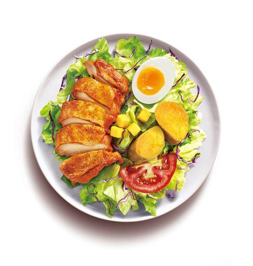 沙拉,肯德基,速食店。(圖/業者提供)