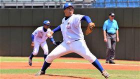 U18中華隊先發投手顏子熏。(圖/大會攝影師陳子強提供)