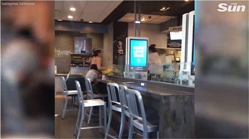 美國,麥當勞,糾紛,影片 圖/翻攝自YouTube