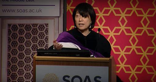 Wen-chin Ouyang,台裔學者歐陽文津 獲選英國國家學術院院士,圖/翻攝自SOAS University of London YouTube