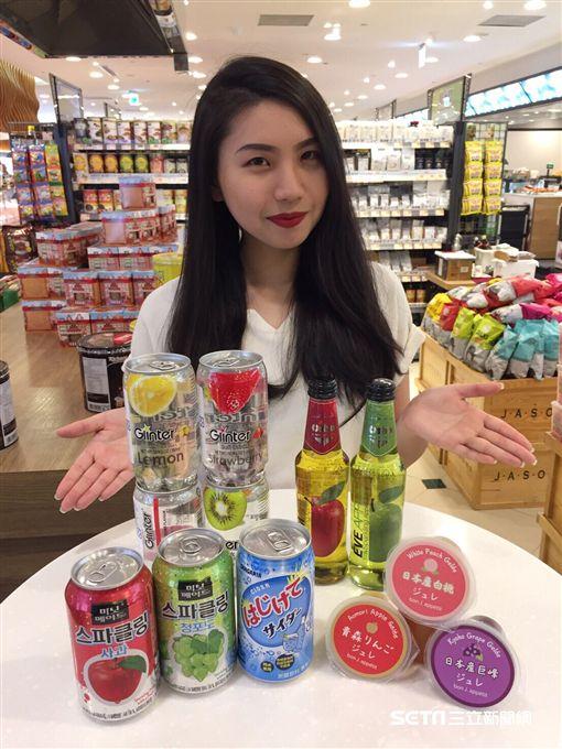 網美,飲料,超市。(圖/JASONS提供)