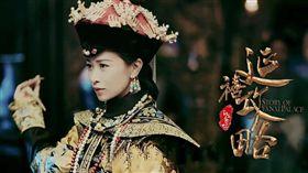 佘詩曼《延禧攻略》飾演嫻妃。(翻攝微博)
