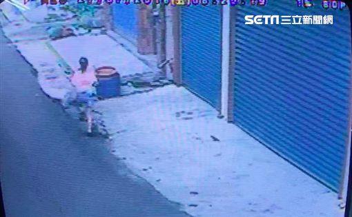 台南,土狗,追逐,猝死,女童,監視器,警方 ID-1464914