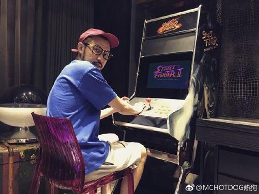熱狗MC HotDog 圖翻攝自微博