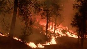 北加州野火蔓延 5死17失蹤(圖)/翻攝自YouTube