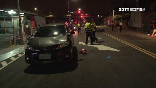 酒駕撞死女騎士 駕駛:車不是我開的