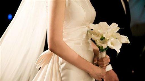 結婚、新娘、捧花、新人、出嫁、新郎/Pixabay