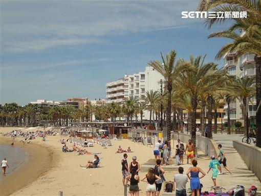 夏天,度假,比基尼,西班牙,墾丁,里維,地中海