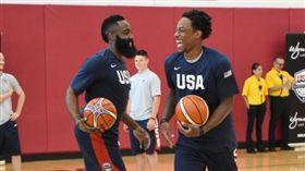 美國男籃迷你訓練營在拉斯維加斯舉行(圖/取自美國籃協推特)