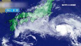 強颱雲雀登日 6米巨浪擊碎二樓窗戶 SOT 日本,雲雀颱風,災情,巨浪,飯店,落地窗,靜岡縣