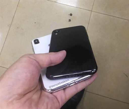 蘋果,新iPhone,iPhone X,愛瘋,iPhone,Ben Geskin圖/翻攝推特