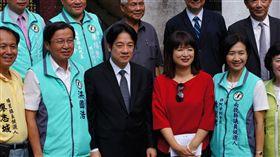 訪台灣地理中心碑 賴揆支持虎頭山景區升格