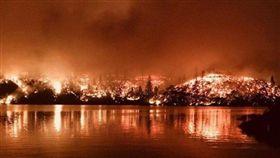 美國加州野火/Cal Fire推特twitter.com/CAL_FIRE