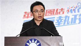國民黨文傳會副主委洪孟楷。 (圖/記者林敬旻攝)
