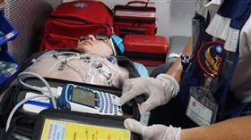行動急診室,高雄,心電圖