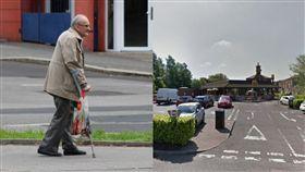 一次霸占3車位!81歲翁勸阻被推倒 餘生只能靠枴杖走路(右圖/翻攝自Google Map、左圖/翻攝自Pixabay )