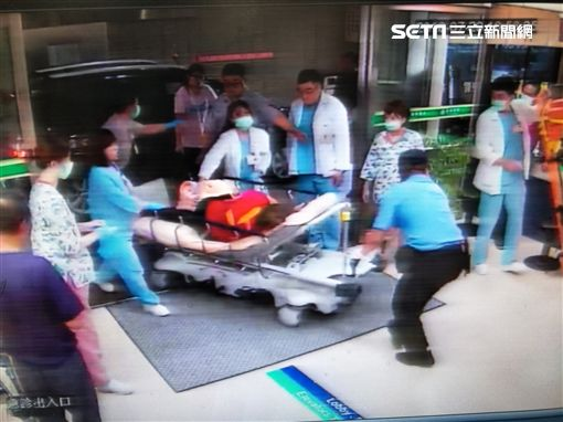 彰化59歲阿足婦人遭撞死/翻攝畫面