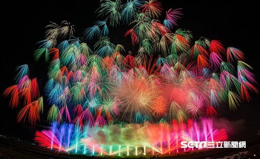 東京花火大祭,日本煙火,祭典。(圖/三井提供)