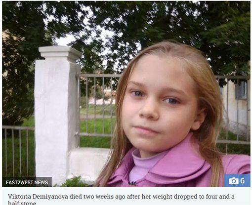 女兒被媽騙自己罹患癌症,活活被餓死。(圖/翻攝The Sun)