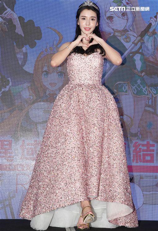 李毓芬甜美又勇敢才是現代公主精神。(記者邱榮吉/攝影)