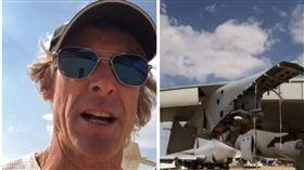 好萊塢導演麥可貝(Michael Bay)在IG發文飆罵泰國航空惹爭議。(翻攝微博)
