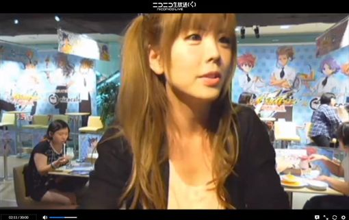 日本女實況主宣布下海拍AV。(圖/翻攝橘@ハム推特)