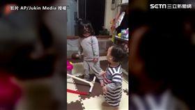 弟弟一秒打碎姐姐明星夢。