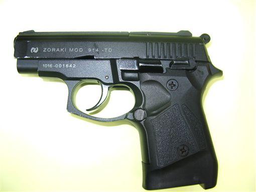 新北,恐嚇危害安全罪,社會秩序維護法,道具槍,討債。翻攝畫面