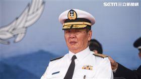 海軍司令黃曙光上將。 圖/記者林敬旻攝