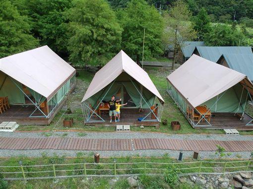 宜蘭那一村,露營,帳篷。(圖/翻攝自那一村FB)https://www.facebook.com/nayivilla039221715/