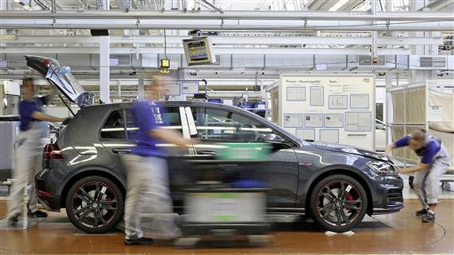 Volkswagen優異產能獲得2018年度汽車精效生產大獎。(圖/Volkswagen提供)