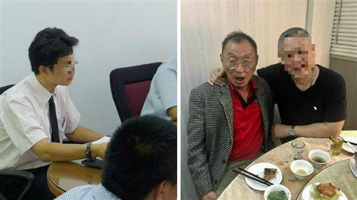 董念台 林俊佑 合成圖/翻攝自董念台臉書、中央社