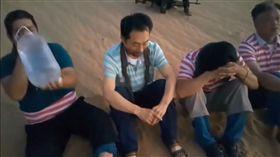 南韓一名男子遭利比亞綁匪綁架(圖/翻攝自YouTube)