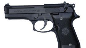 Beretta-92FS,貝瑞塔(圖/攝影者Leo Tante, 翻攝自Wikimedia Commons) https://goo.gl/13snyk