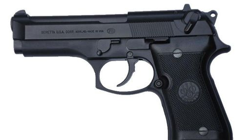 Beretta-92FS,貝瑞塔(圖/攝影者Leo Tante, 翻攝自Wikimedia Commons)https://goo.gl/13snyk