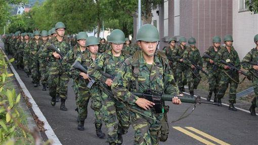 軍人,當兵,阿兵哥 圖/翻攝自國防部後備指揮部臉書