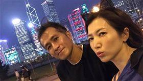 廖家儀跟隨老公移居香港。(圖/翻攝自臉書)