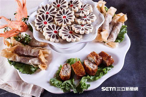 2018台北餐廳週,辦桌宴料理。(圖/EZTABLE提供)