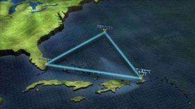 科學家認為「瘋狗浪」是導致百慕達三角區域常發生意外的原因。(圖/翻攝新浪網)