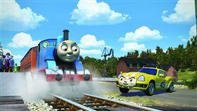 ▲《湯瑪士小火車:環遊世界大冒險》將於8月17日在台上映。(圖/甲上娛樂提供)