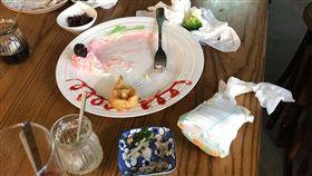 用過尿布放桌上年輕夫妻直接走人 服務員怒:請將心比心(圖/翻攝自爆料公社)