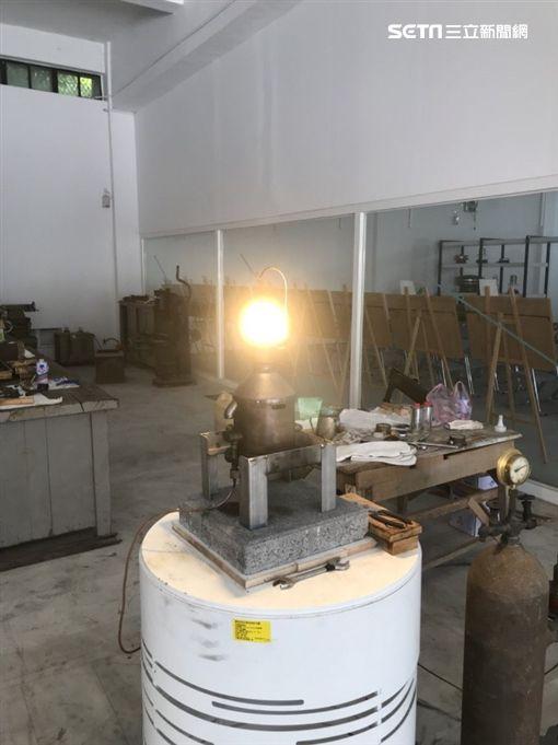航港局,紗罩白熱燈,燈塔文物館,/航港局提供