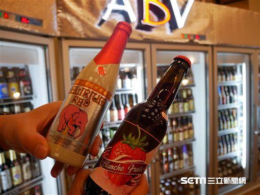 誠品啤酒節。(圖/記者馮珮汶攝)